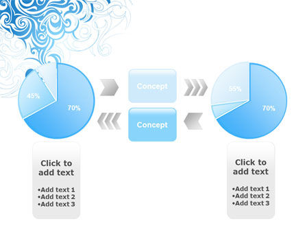 Blue Curls PowerPoint Template Slide 11