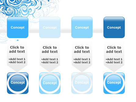 Blue Curls PowerPoint Template Slide 18