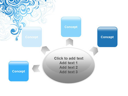 Blue Curls PowerPoint Template Slide 7