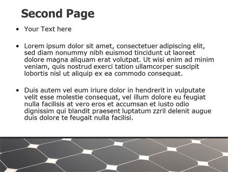 Solar Panel PowerPoint Template, Slide 2, 07026, Abstract/Textures — PoweredTemplate.com