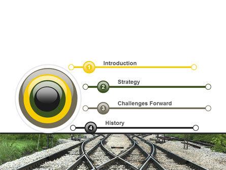 Railways PowerPoint Template Slide 3