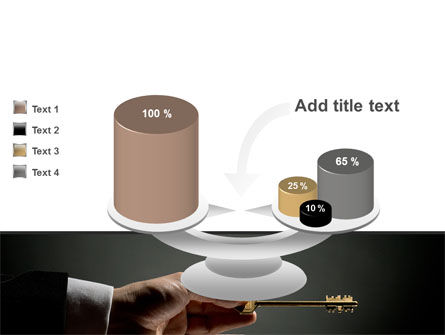 Choosing Key PowerPoint Template Slide 10