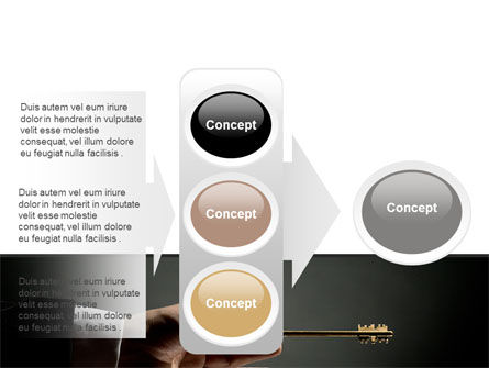 Choosing Key PowerPoint Template Slide 11