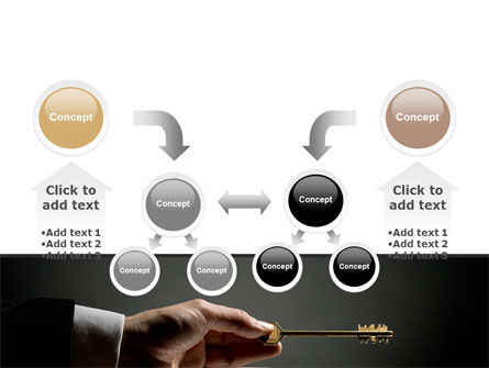 Choosing Key PowerPoint Template Slide 19