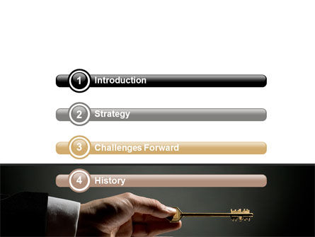 Choosing Key PowerPoint Template, Slide 3, 07028, Consulting — PoweredTemplate.com