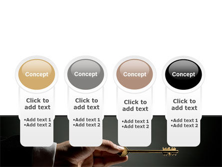 Choosing Key PowerPoint Template Slide 5