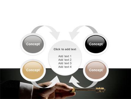 Choosing Key PowerPoint Template Slide 6