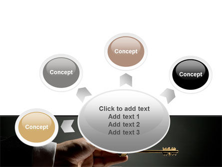 Choosing Key PowerPoint Template Slide 7