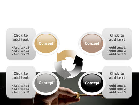 Choosing Key PowerPoint Template Slide 9