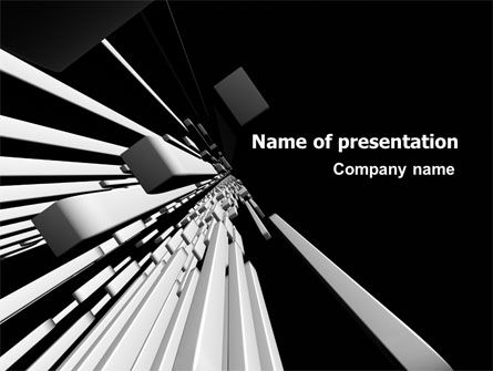 Abstract Parallels PowerPoint Template