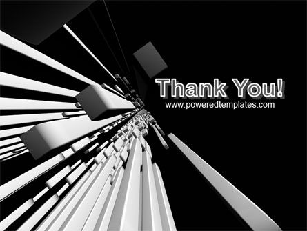 Abstract Parallels PowerPoint Template Slide 20