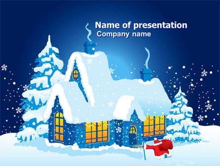 Holiday/Special Occasion: Winter Holidays PowerPoint Template #07030
