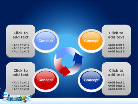 Winter Holidays PowerPoint Template Slide 9