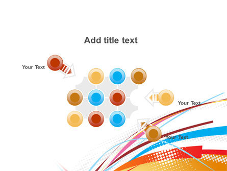 Colorful Ribbons PowerPoint Template Slide 10