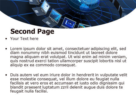Telecommunication Progress PowerPoint Template, Slide 2, 07033, Technology and Science — PoweredTemplate.com