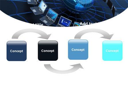 Telecommunication Progress PowerPoint Template, Slide 4, 07033, Technology and Science — PoweredTemplate.com