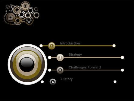Mechanical Wheels PowerPoint Template, Slide 3, 07034, Utilities/Industrial — PoweredTemplate.com