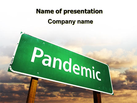 Medical: Pandemic PowerPoint Template #07036