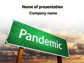 Medical: 大流行PowerPoint模板 #07036