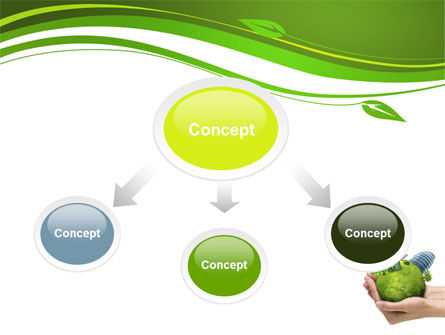 Green Habitat PowerPoint Template, Slide 4, 07037, Nature & Environment — PoweredTemplate.com