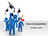 Education & Training: Graduation PowerPoint Template #07038
