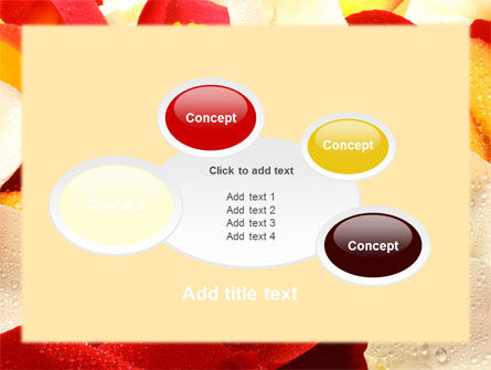 Note in Petals PowerPoint Template Slide 16