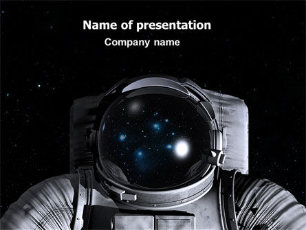 Technology and Science: Space Nomad Free PowerPoint Template #07040