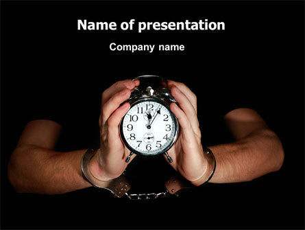 Consulting: Limited Time PowerPoint Template #07043