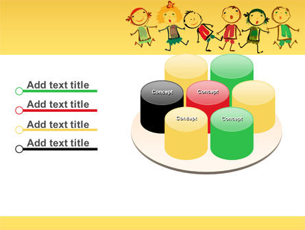 Funny Kids PowerPoint Template Slide 12