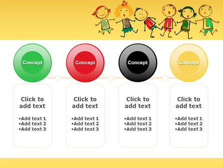 Funny Kids PowerPoint Template Slide 5