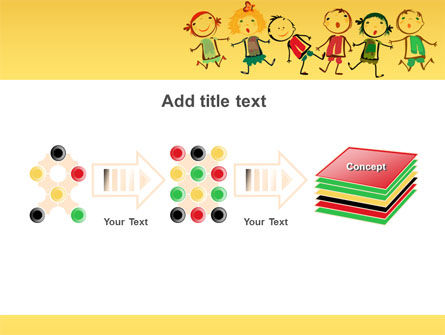 Funny Kids PowerPoint Template Slide 9