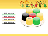 Funny Kids PowerPoint Template#12