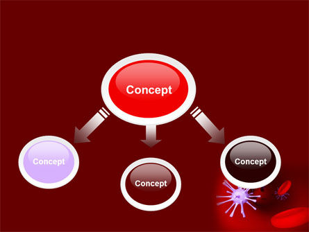 Virus in Blood PowerPoint Template, Slide 4, 07046, Medical — PoweredTemplate.com