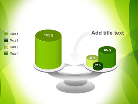Green Theme PowerPoint Template Slide 10