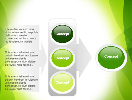 Green Theme PowerPoint Template Slide 11