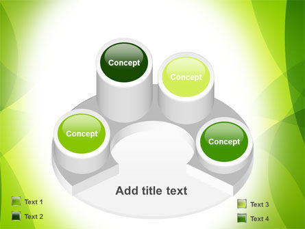 Green Theme PowerPoint Template Slide 12
