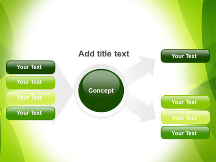 Green Theme PowerPoint Template Slide 14