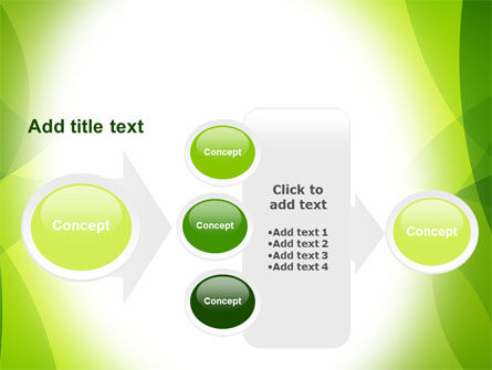 Green Theme PowerPoint Template Slide 17
