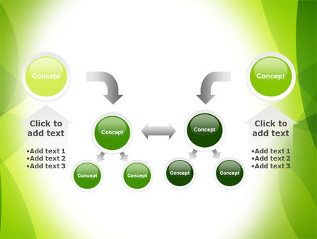 Green Theme PowerPoint Template Slide 19