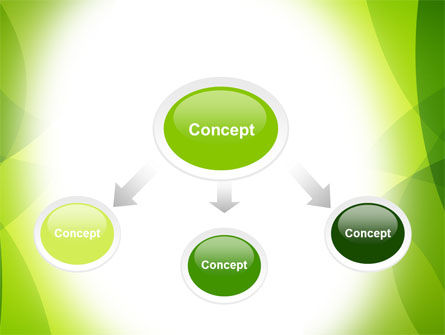 Green Theme PowerPoint Template, Slide 4, 07047, Abstract/Textures — PoweredTemplate.com
