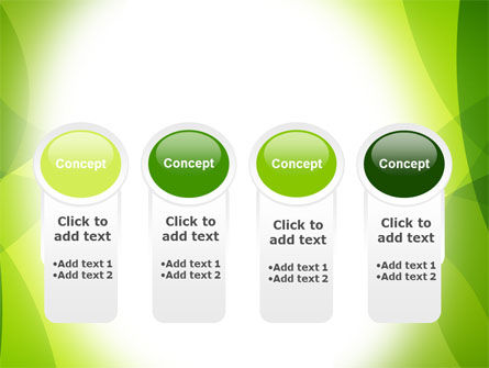 Green Theme PowerPoint Template Slide 5