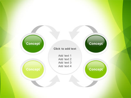 Green Theme PowerPoint Template Slide 6