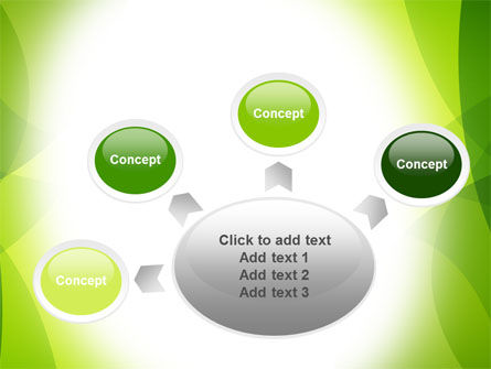 Green Theme PowerPoint Template Slide 7