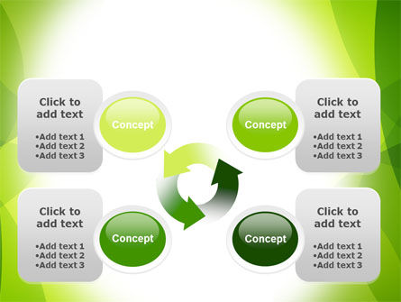 Green Theme PowerPoint Template Slide 9