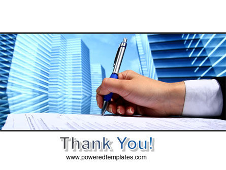 Free Signing Document PowerPoint Template Slide 20