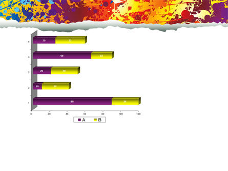 Splattered Paint PowerPoint Template Slide 11