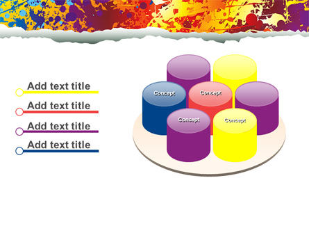 Splattered Paint PowerPoint Template Slide 12
