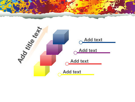 Splattered Paint PowerPoint Template Slide 14