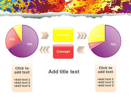 Splattered Paint PowerPoint Template Slide 16
