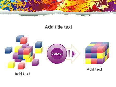 Splattered Paint PowerPoint Template Slide 17